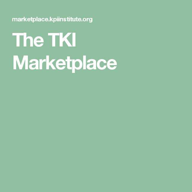 The TKI Marketplace