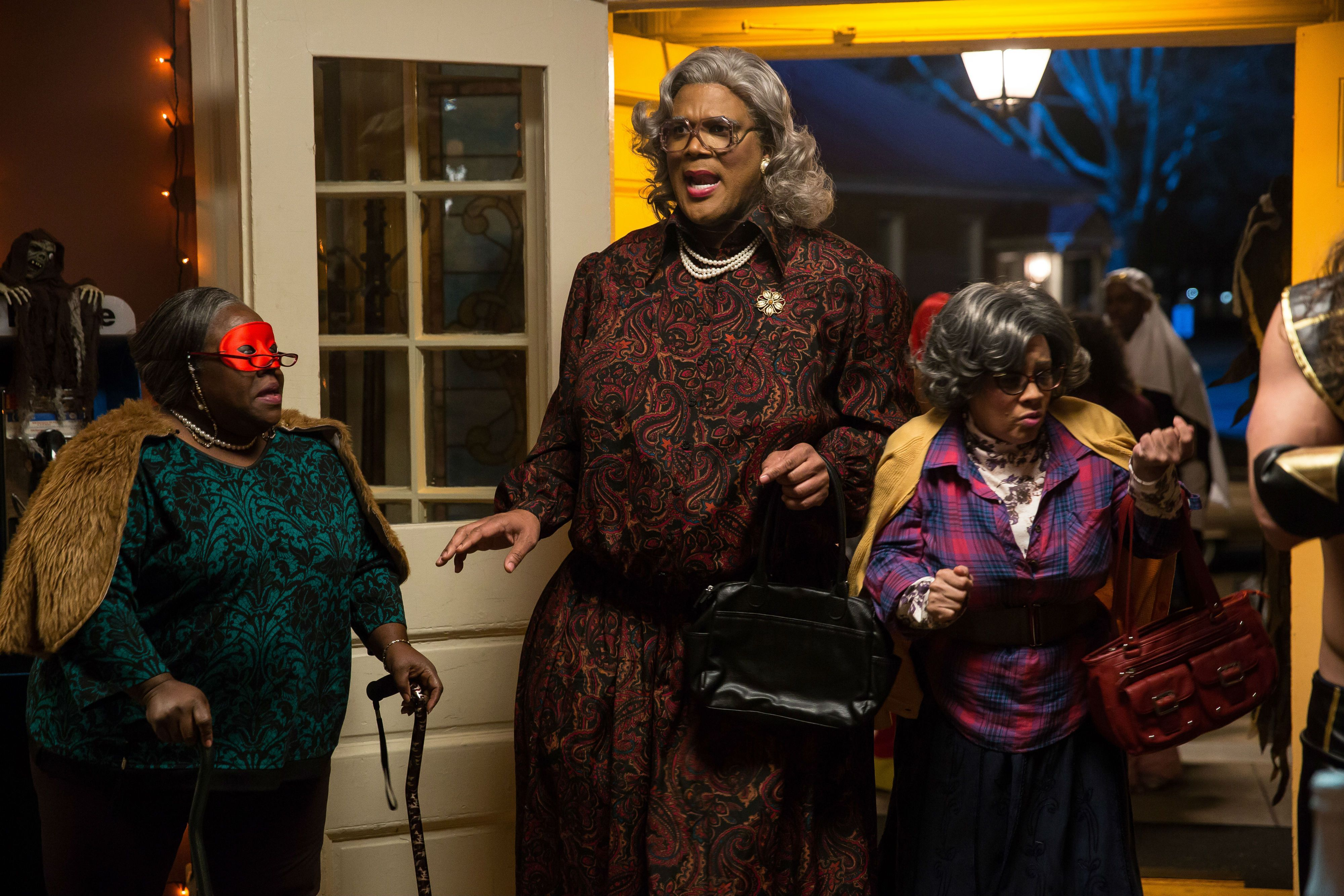 NOT ANOTHER MADEA MOVIE! Tough, crass, and always has