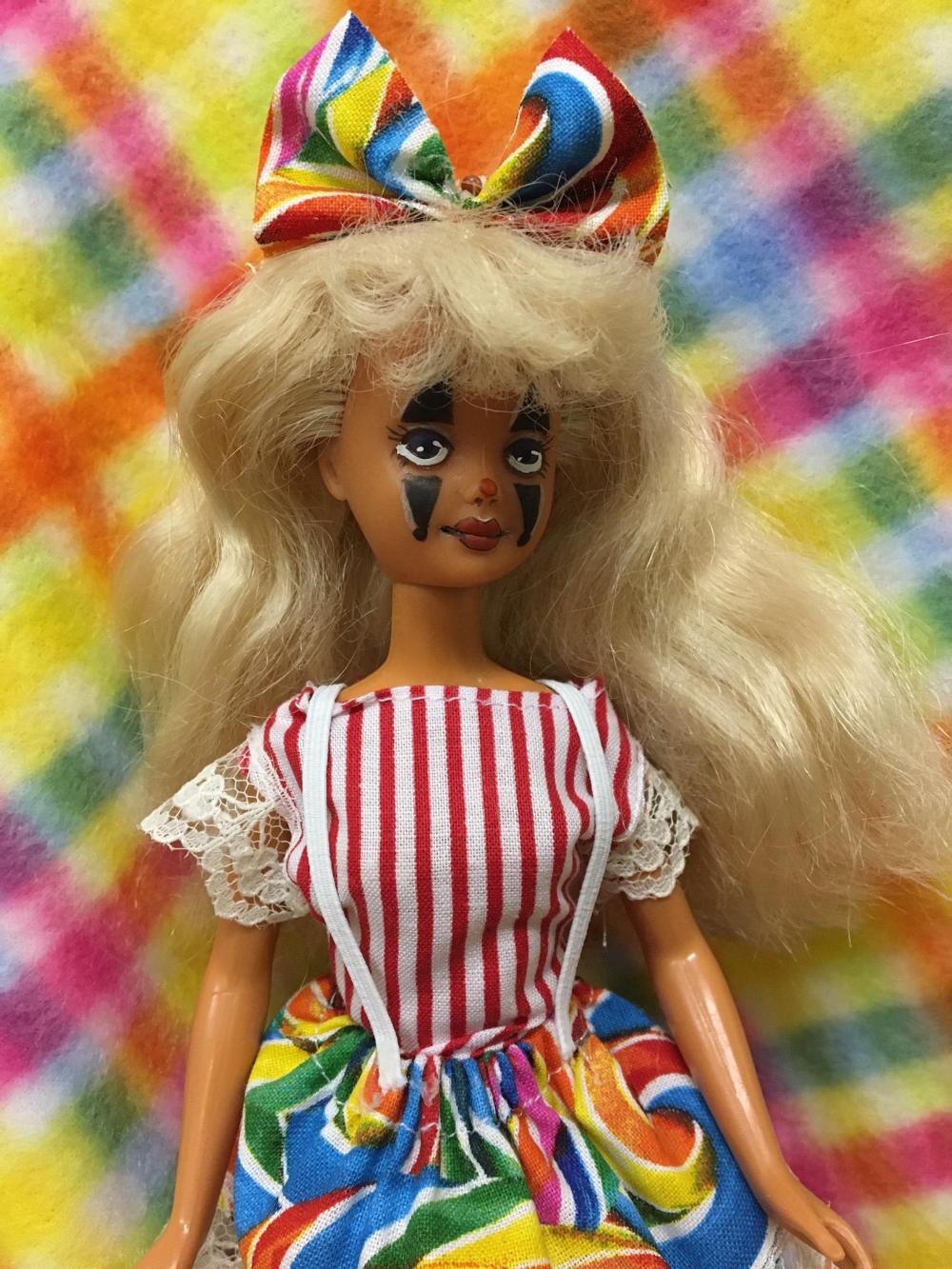 OOAK creepy cute Francine Skipper doll custom, repainted