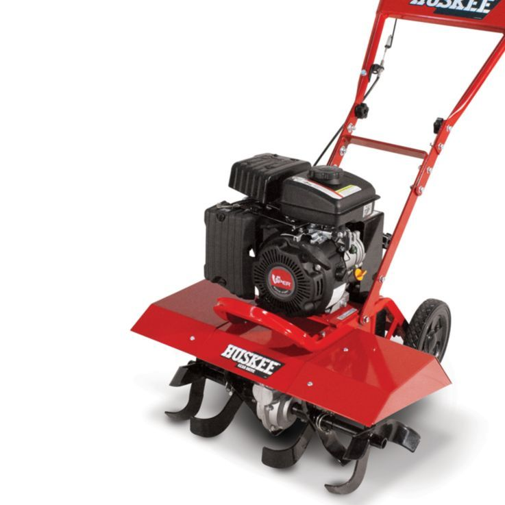 Huskee® Front Tine Compact Rototiller, CARB Compliant