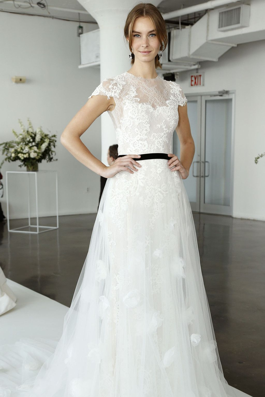 Marchesa bridal spring mariage robe de reve pinterest