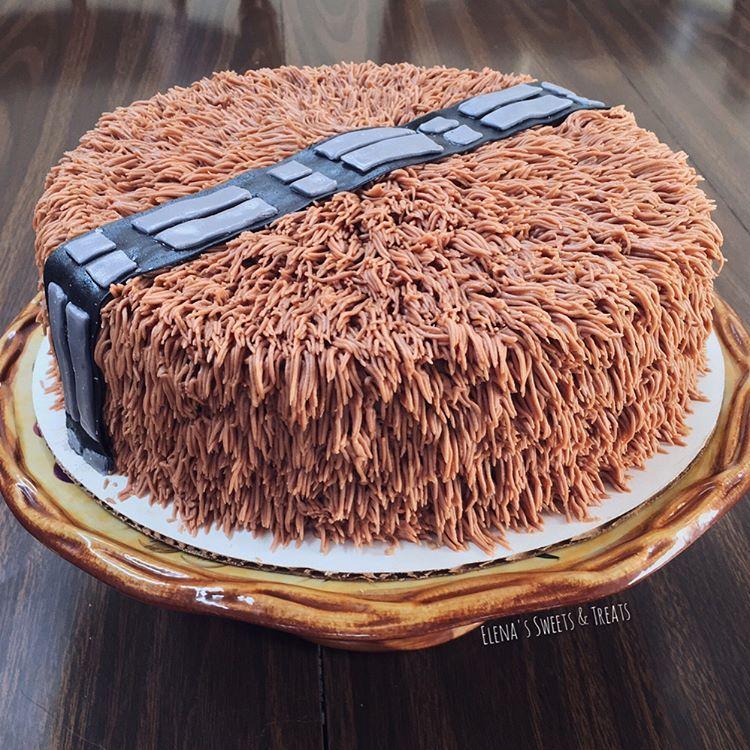 Chocolate Chewbacca Www Dunmorecandykitchen Com: Chocolate On Chocolate Chewbacca Cake!