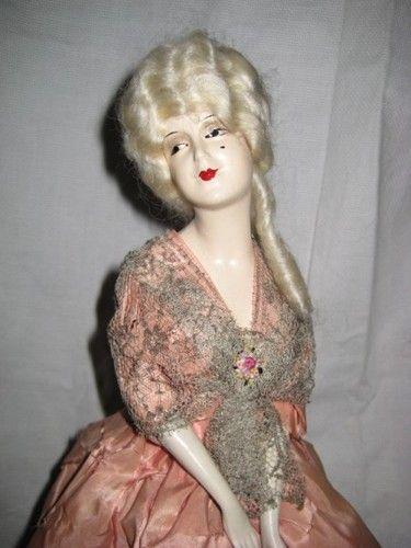 Antique 1920's Munzerlite Doll Lamp | Boudoir Dolls ...