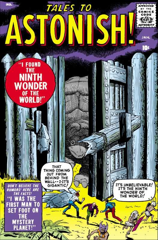 Tales to Astonish #1 - We Found The Ninth Wonder Of The World