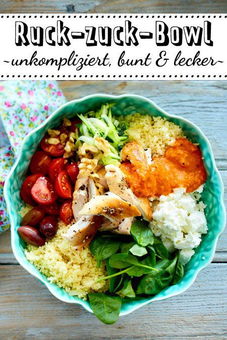 Photo of Power-Bowl mit Couscous Rezept | LECKER