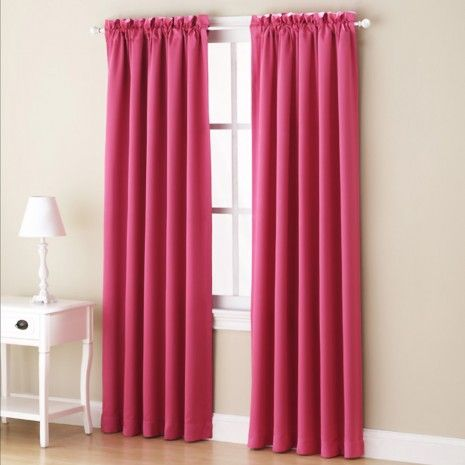 Kylee Blackout Rod Pocket Panel Collection Cool Curtains
