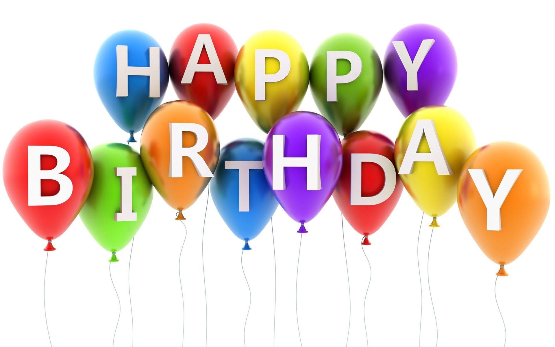 Happy Birthday Balloons   My blog