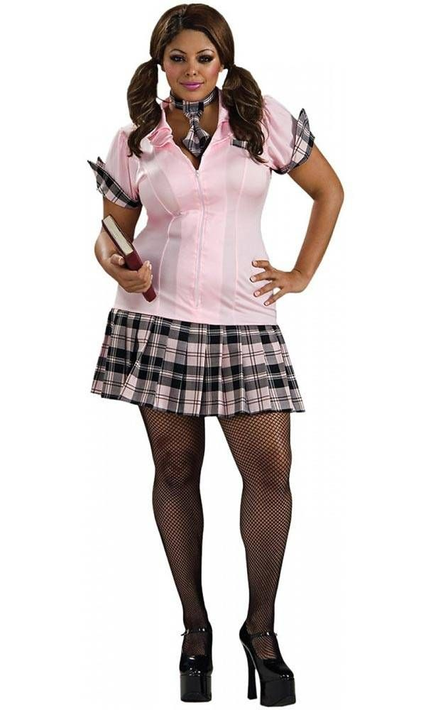 School Girl Plus Size Halloween Costumes For Women Plus Size