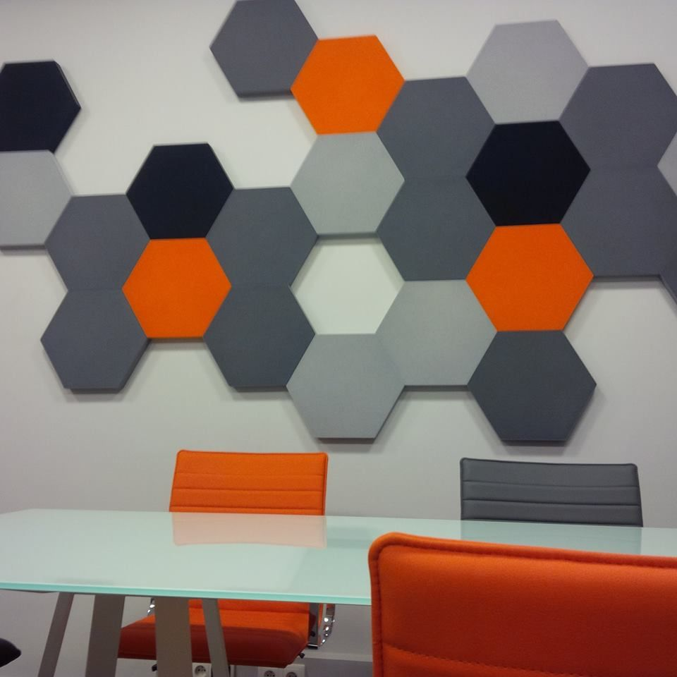 fluffo hexa soft acoustic wall panels decoraciones on acoustic wall panels id=41537