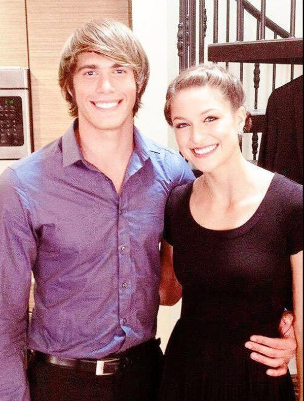 Melissa Benoist Dishes On Her Romance With Co Star Blake Jenner Blake Jenner Melissa Benoist Blake Jenner Melissa Benoist