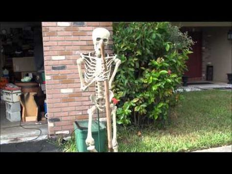 Animated Grave Digger Halloween Prop - YouTube Halloween - how to make halloween decorations youtube