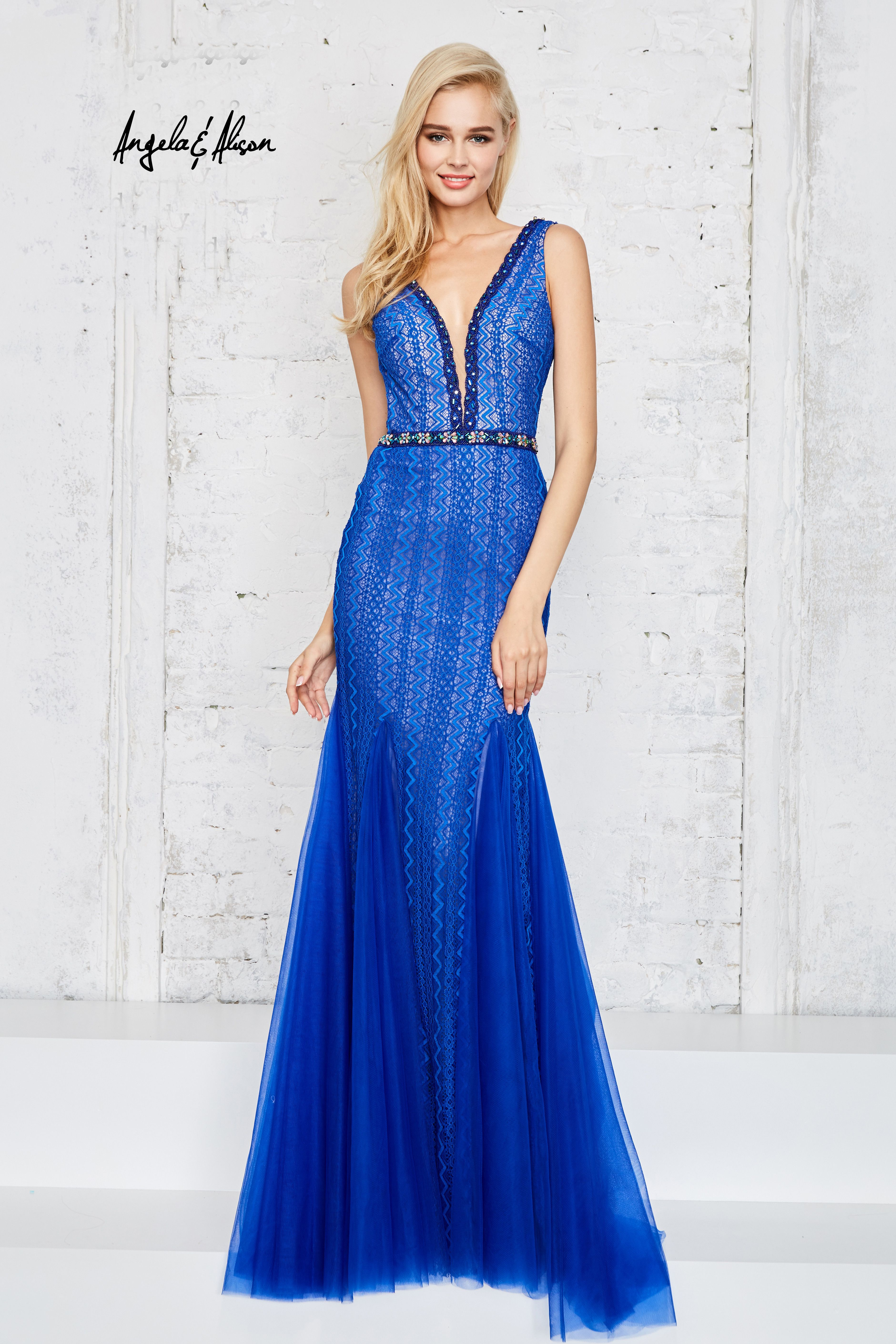 Available in ivory hot red royal blue size prom dress