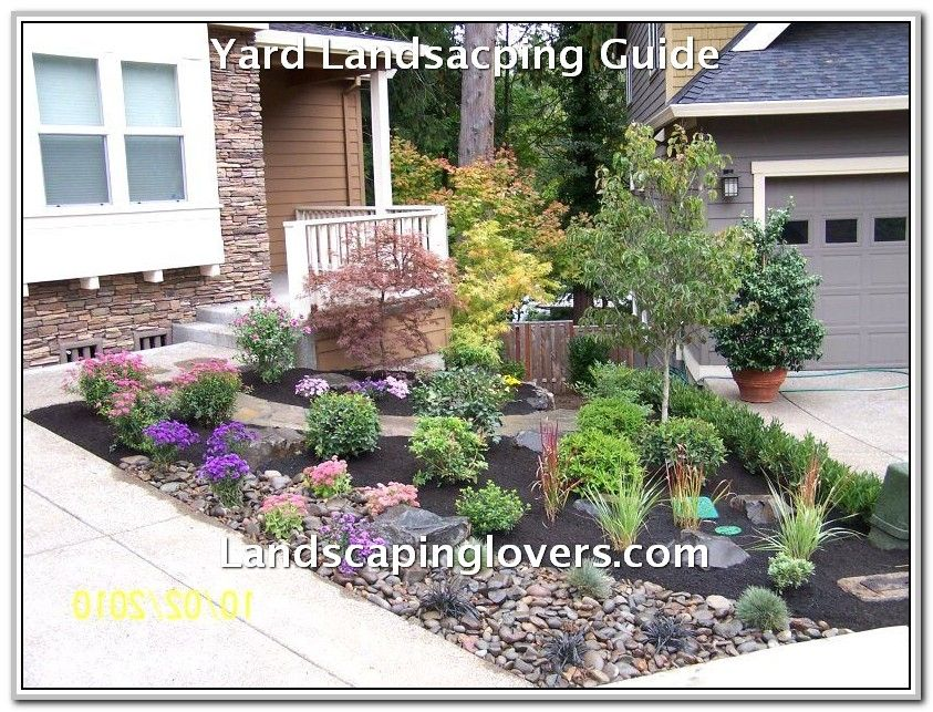 Is Landscaping Your New Found Hobby Landscaping Lovers Small Front Yard Landscaping Small Front Gardens Front Garden Design