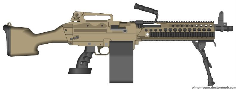 Gallery For > Future Machine Guns | WEAPONS! | Pinterest ...