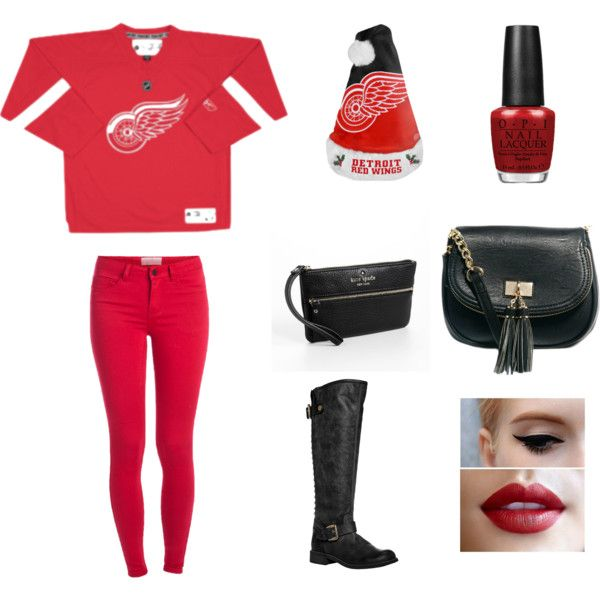Hockey Game Outfit Hockey Game Outfit Gaming Clothes Winter Outfits