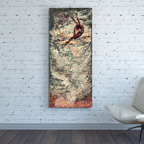Large Vertical Wall Art canvas print vertical huge large sepia gray abstract wall art