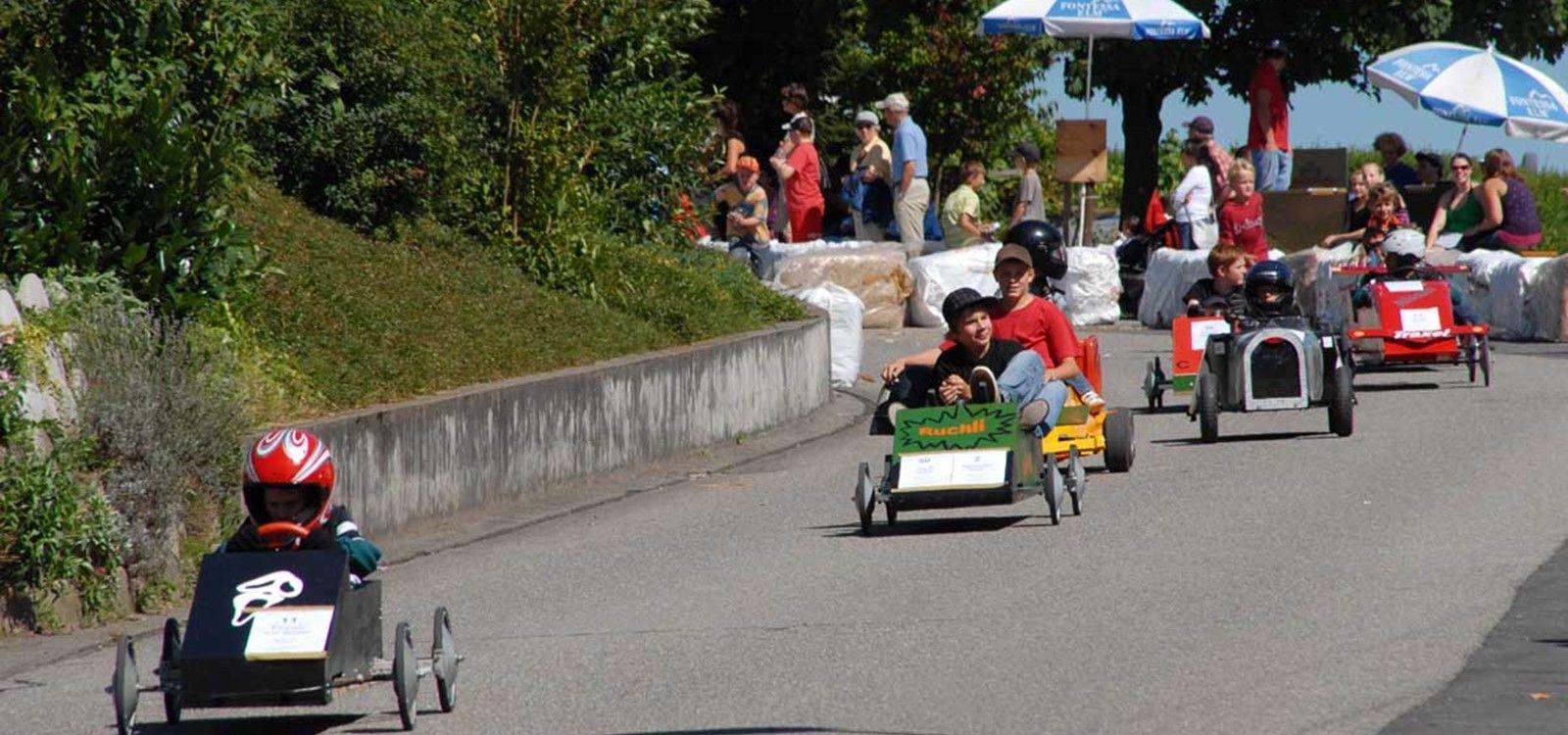 First soapbox race derby cars car derby