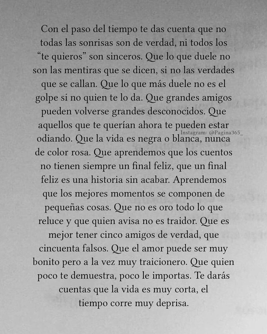 """Página 365 📖 on Instagram: """"Página 263 de 365 #Pagina365 📜 📜 📜 📜 📜 #frases #textos #letras #citas #versos #escritos #reflexiones #poema #pensamientos #sentimientos…"""""""
