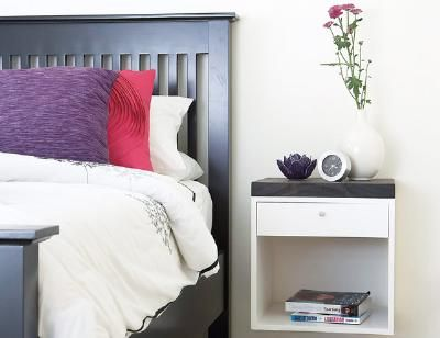How to Make a Wall-Mounted Nightstand