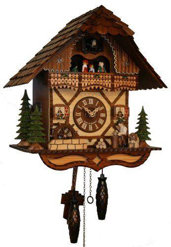 Specialty Clocks Cuckoo Clocks 3 Birds Kammerer Uhren Hekas Cuckoo ...