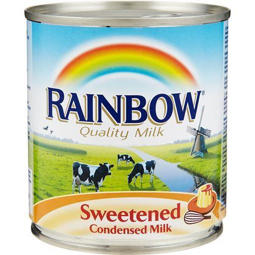 Rainbow Condensed Milk
