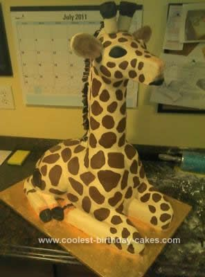 Easy giraffe cake recipes