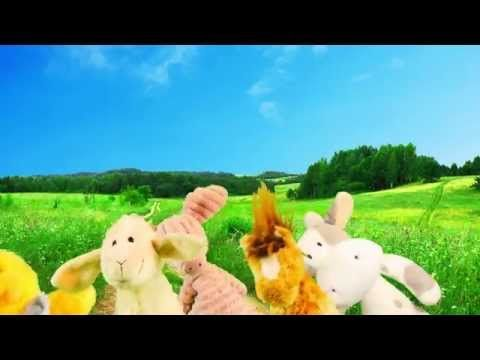Jens Hansen havde en bondegård - dansk børnerim - YouTube