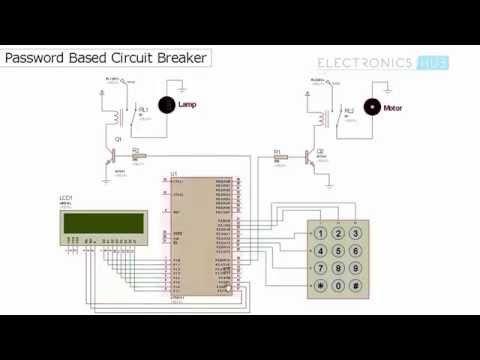 Password Based Circuit Breaker Project Pdf