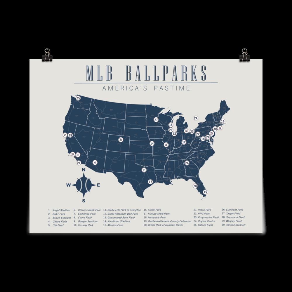 Pin By Zack S Map Shop On Original Maps Baseball Stadium Map Map Poster