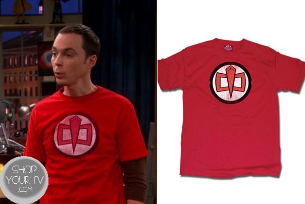 Sheldon Cooper Often Wears His Greatest American Hero T Shirt Hero Tshirt American Heroes Mens Tops