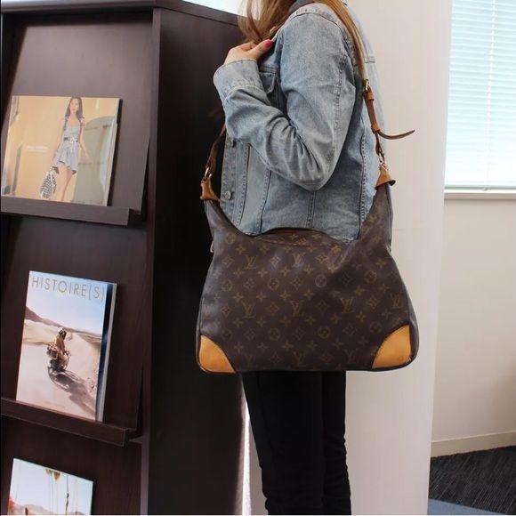 Louis Vuitton Boulogne 35 shoulder bag Authentic or money back Louis Vuitton  Bags Shoulder Bags 26ebc35a0f45