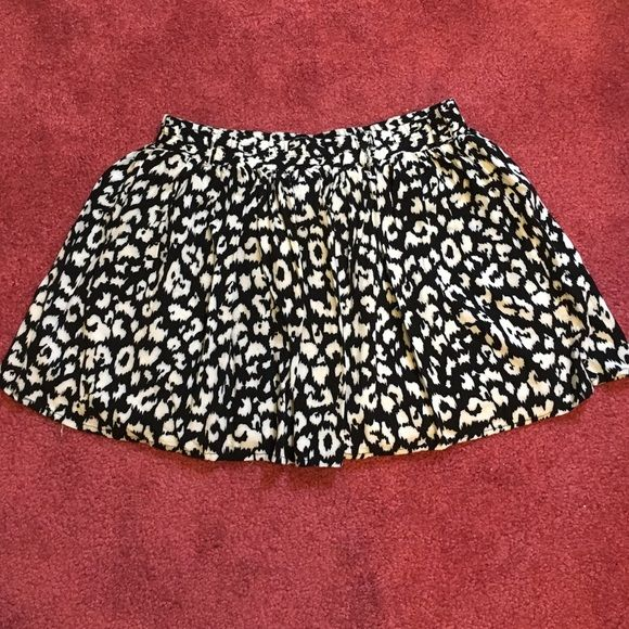Cheetah Print Mini-Skirt Gently worn, size small, 1 foot long, cheetah print mini skirt. I'm open for offers, anything from $5-10, this needs to go! Skirts Mini