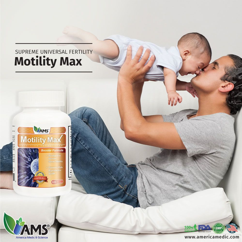 Motility Max is the optimal solution to treat one of the most common  sources of male
