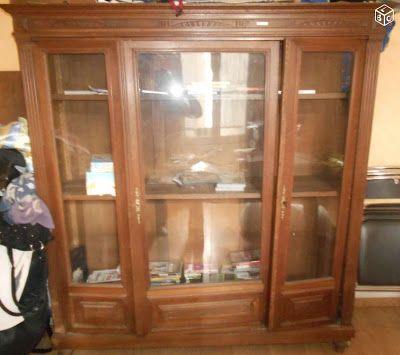 Relooker un meuble Bricotransferts de Pascale Une vitrine pour les