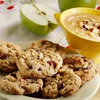 Apple Spice Drops - Chock-full of sliced apples and walnuts, these cookies are spiced with cinnamon, nutmeg, and cloves.