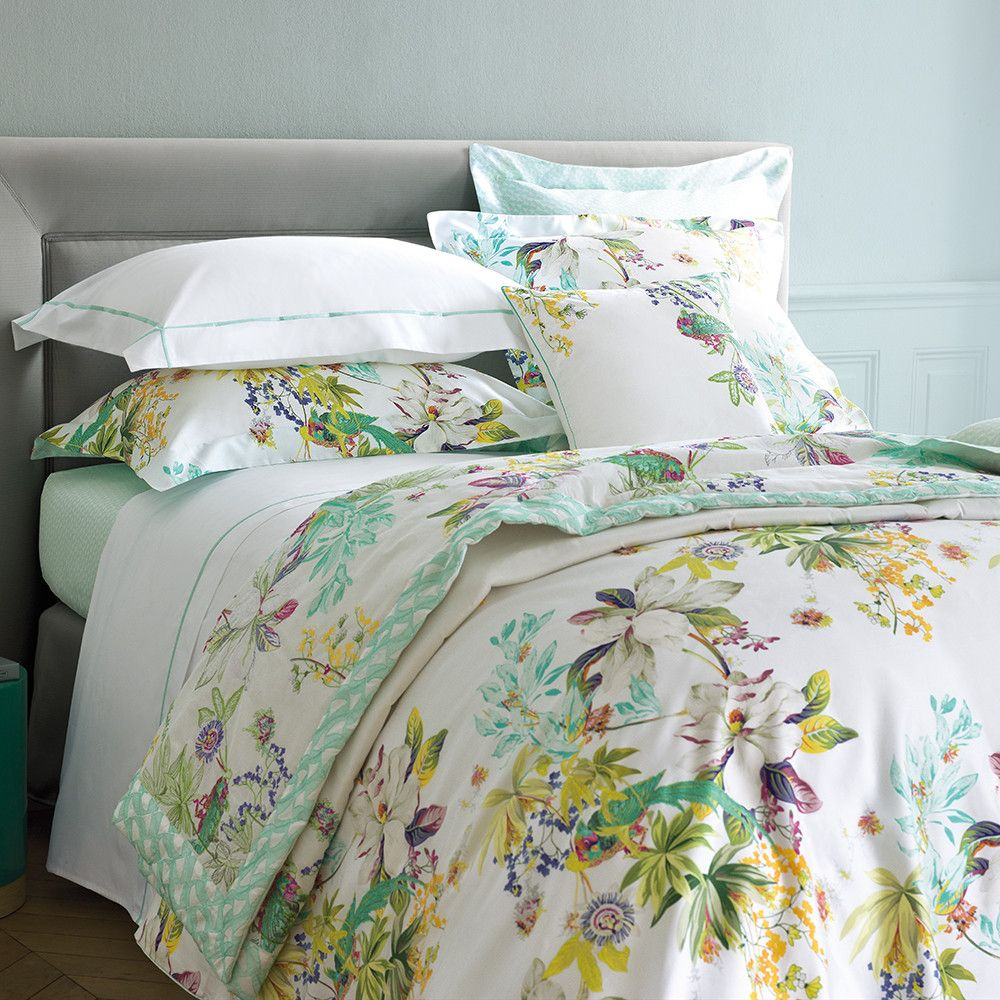 Ailleurs Duvet Cover Multi King From Yves Delorme Bed Linens Luxury Luxury Bedding Bed Linen Sets