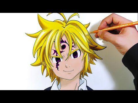 Photo of How to draw Meliodas with colored pencils | The 7 Deadly Sins | Nanatsu no Taizai