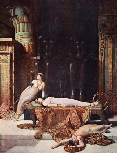 The Death of Cleopatra - John Collier
