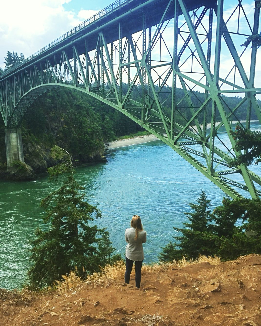 Deception pass bridge- Whidbey Island WA