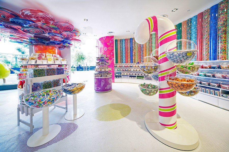 The World S Most Beautiful Candy Shops Candy Room Candy Store