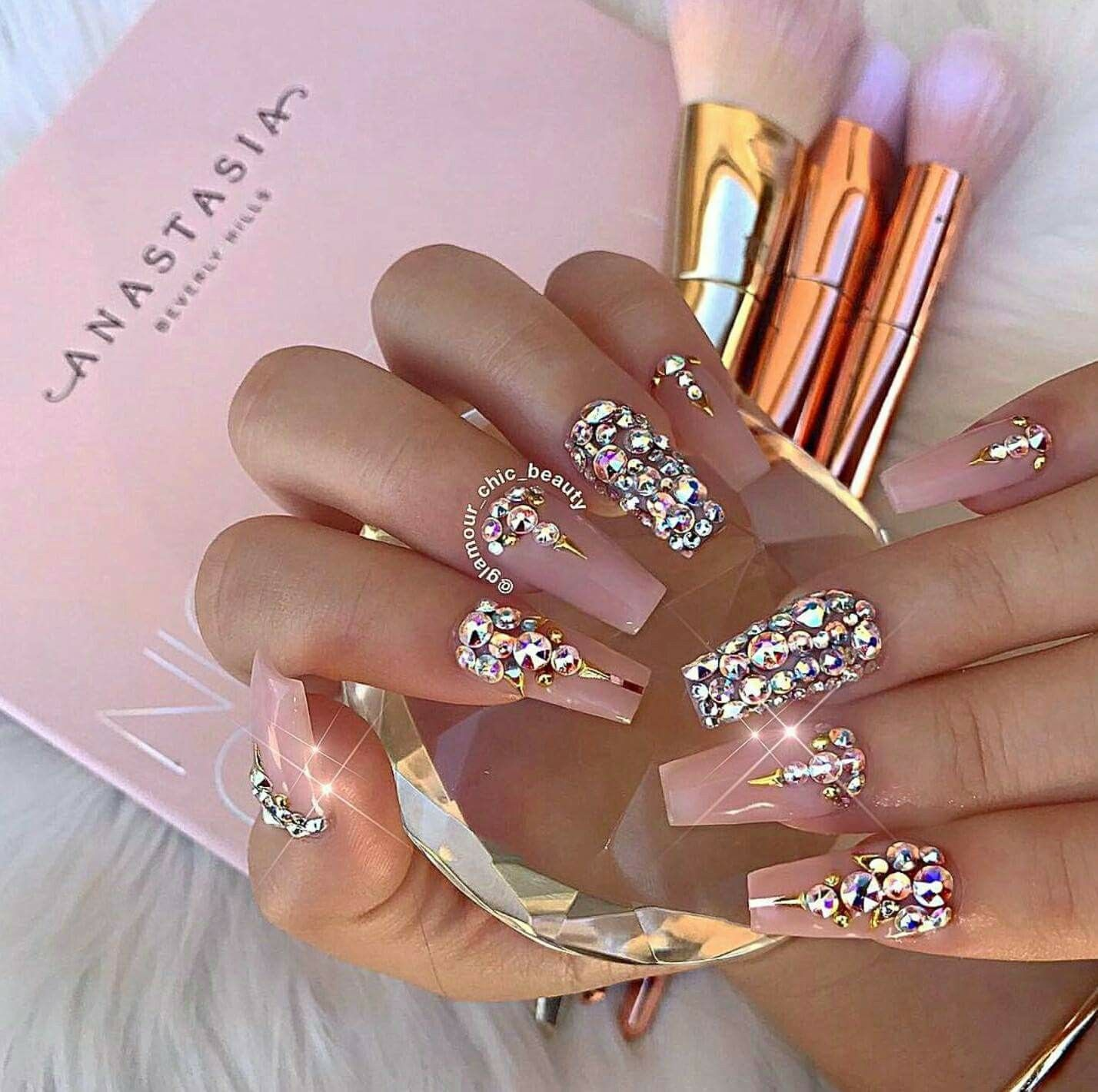Love this just way too long for me | skin & nails | Pinterest | Nail ...