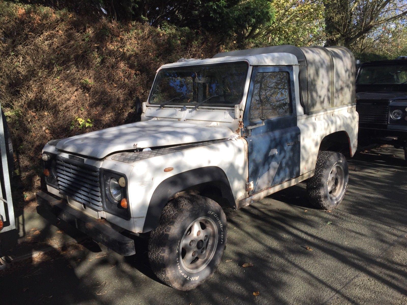 eBay: Land rover defender 300 TDI pick up spares or repairs ...