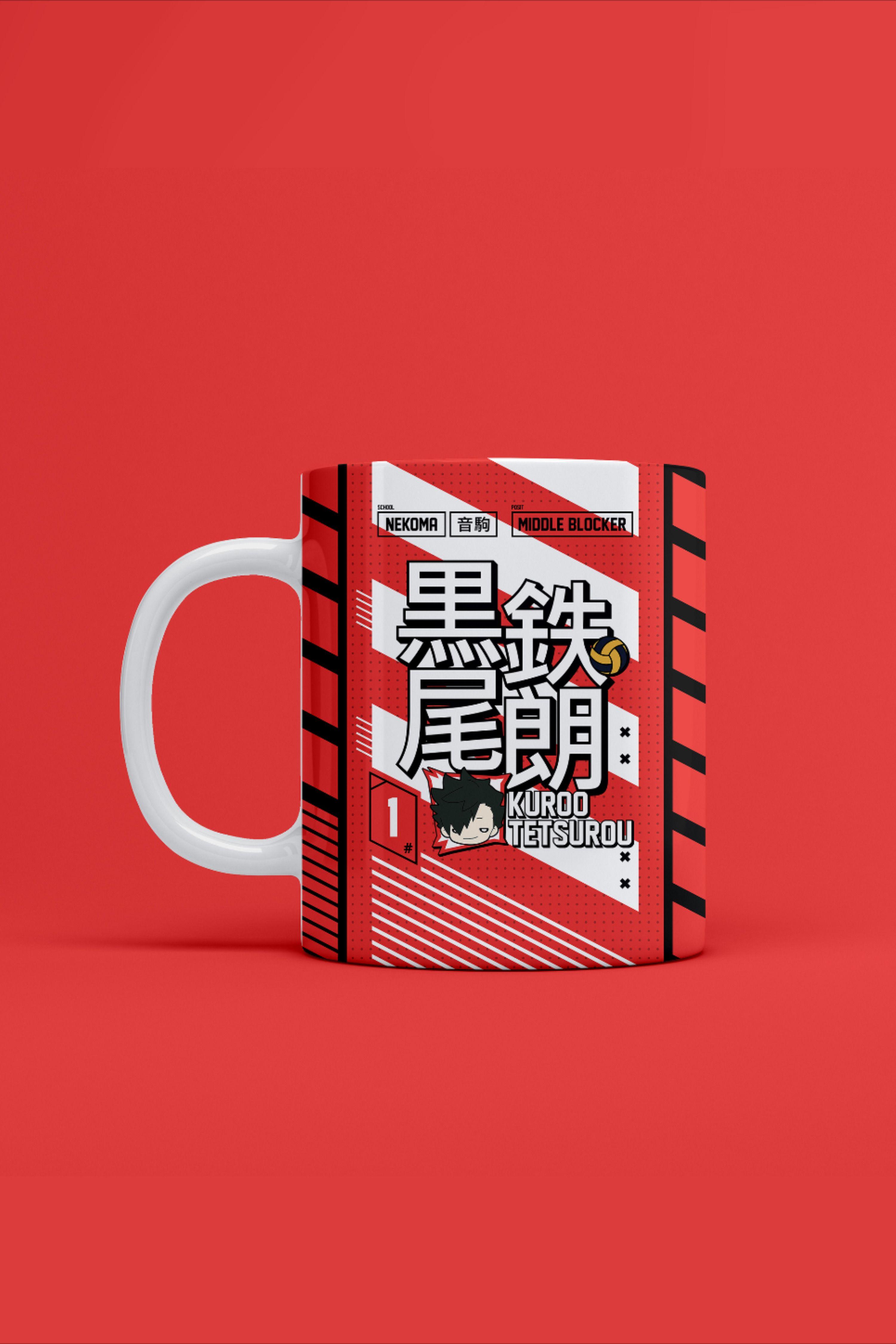Kuroo Tetsurou Nekoma Haikyuu Mug By Ihasartwork In 2020 Kuroo Tetsurou Haikyuu Kuroo