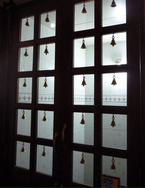 Pooja room door designs room door design door design for Room door design photos
