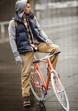 ジャケット×パーカーの着こなし(メンズ) | Italy Web