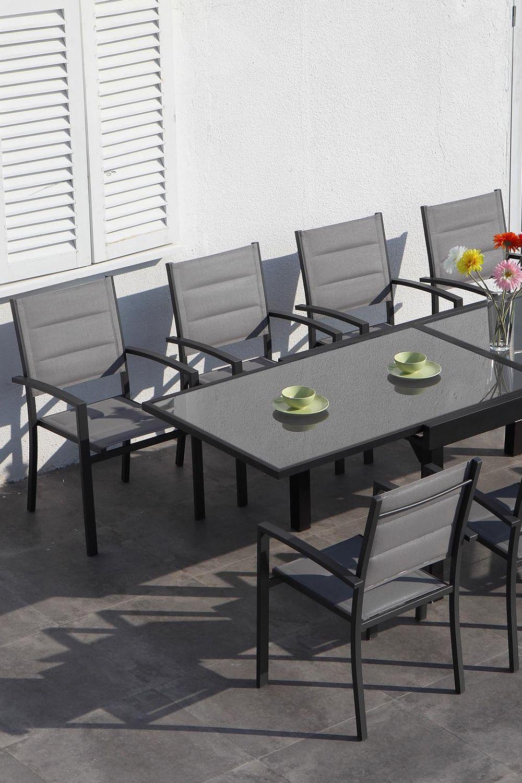 Lucca Set Mobilier Gradina Terasa 8 Scaune Si Masa Extensibila In 2020 Outdoor Furniture Sets Home Decor Outdoor Furniture