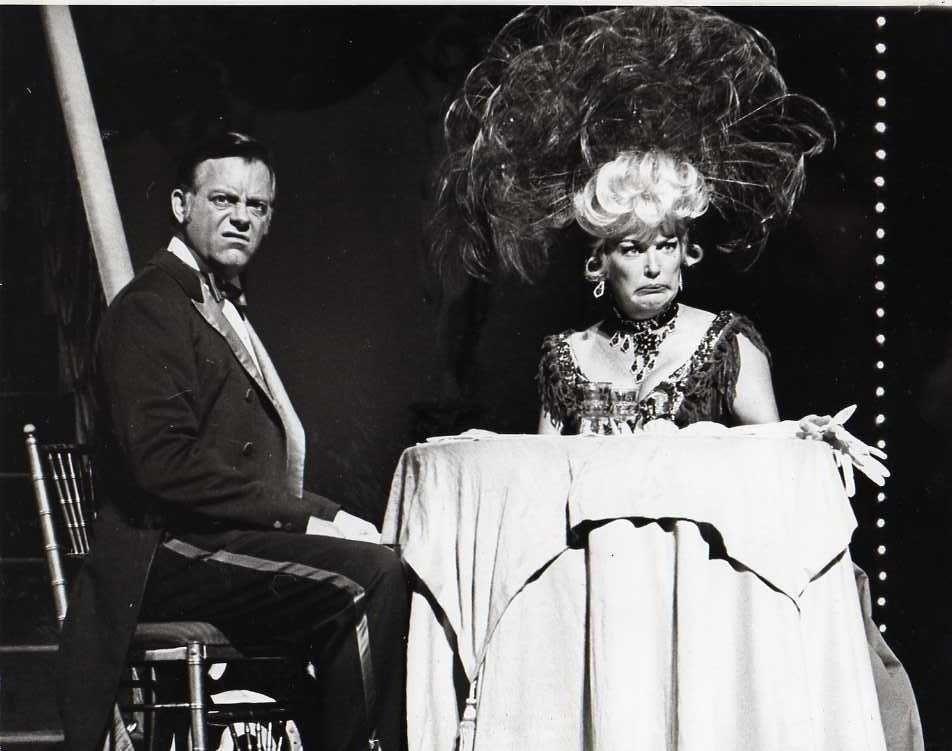 Max Showalter Betty Grable Hello, Dolly! Broadway 1967 | Hello dolly  broadway, Hello dolly, Betty grable