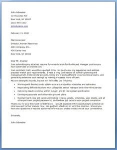 Project manager cover letter examples resume pinterest project project manager cover letter letters and sample construction job application template best free home design idea inspiration spiritdancerdesigns Choice Image