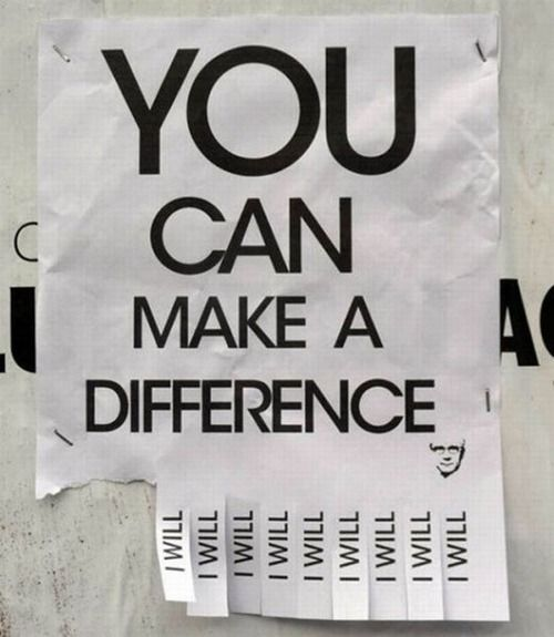 Commit to making a difference