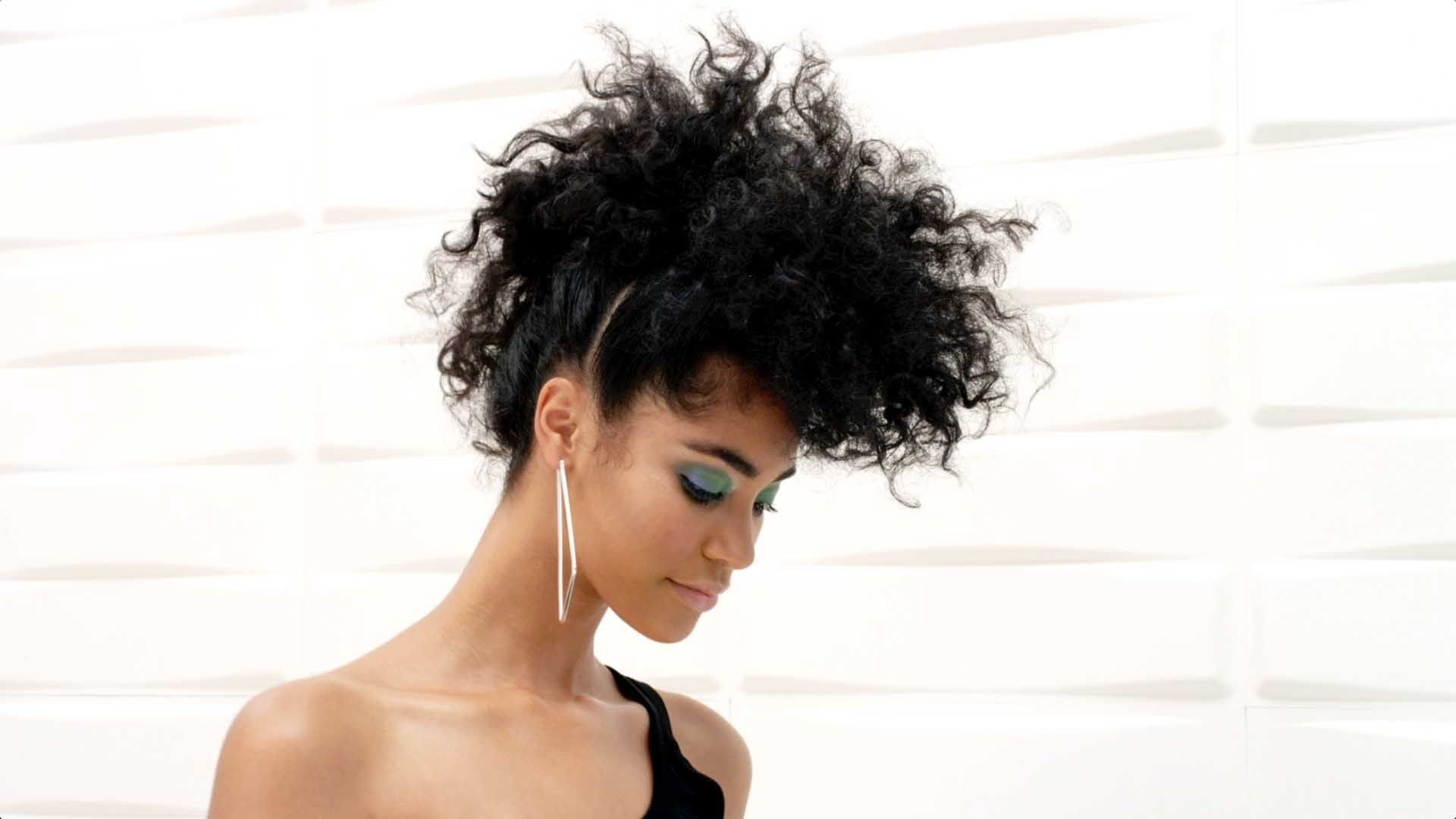 Learn how to create a faux hawk hairstyle using vidal sassoon hair